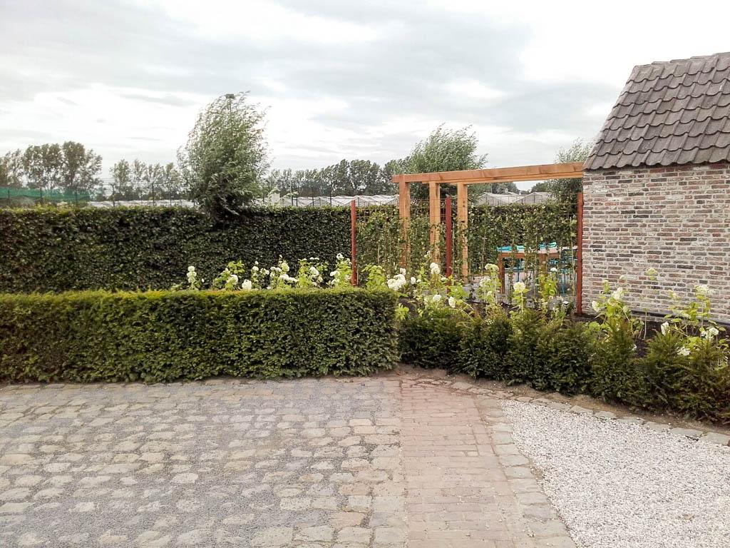 Landelijke tuin met modern zwembad p p groenprojecten