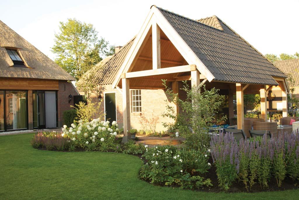 Moderne landelijke tuin p p groenprojecten